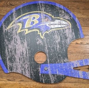 Official NFL Baltimore Ravens Distressed Wall Art
